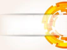 abstrakcjonistycznego tła jaskrawy koloru pomarańcze technika Obraz Stock