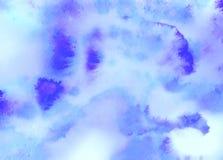 abstrakcjonistycznego tła jaskrawy zbliżenia kolorowa kropel szkła woda Obrazy Royalty Free