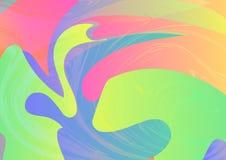 10 abstrakcjonistycznego tła kolorowy obudowywający pastelowy dopisek Dynamicznego skutka wektoru illus Zdjęcie Royalty Free