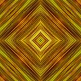 abstrakcjonistycznego tła koloru złoci kwadraty Fotografia Royalty Free
