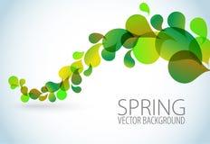 abstrakcjonistycznego tła kwiecista wiosna Fotografia Royalty Free