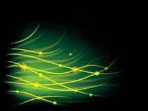 abstrakcjonistycznego tła kwiecisty świecący Zdjęcie Royalty Free