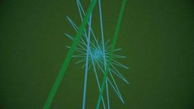 Abstrakcjonistycznego tła Płodozmienny Gwiazdowy Geometryczny kształt royalty ilustracja