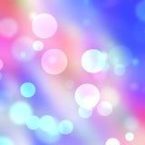 abstrakcjonistycznego tła piękni wakacyjni światła Obrazy Royalty Free