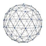 abstrakcjonistycznego tła podłączeniowa sieci technologia Obraz Stock