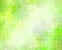 Abstrakcjonistycznego tła - pomarańczowy i żółty grunge z okręgu wzorem Zdjęcie Stock