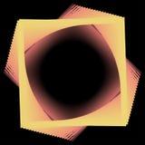 Abstrakcjonistycznego tła prosta linia, czerwień i kolor żółty, - Wektorowa ilustracja Ilustracja Wektor