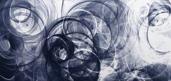 Abstrakcjonistycznego tła psychodeliczny barwiony penciled wytwarzający fractal okrąża Cyfrowego graficznego projekta grafiki ast ilustracji