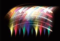 abstrakcjonistycznego tła rozmyta geometryczna przezroczystość ilustracji