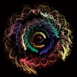 abstrakcjonistycznego tła rozmyta kwiatu przezroczystość ilustracji