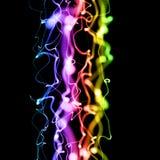 abstrakcjonistycznego tła rozmyty kolorowy royalty ilustracja