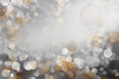 abstrakcjonistycznego tła złocisty biel zdjęcie royalty free