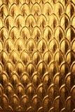 abstrakcjonistycznego tła złocisty metal Obrazy Stock