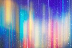 Abstrakcjonistycznego tło plamy ruchu tęczy jaskrawy barwiony gradient Zdjęcie Stock