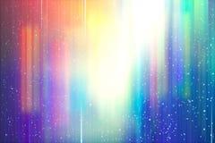 Abstrakcjonistycznego tło plamy ruchu tęczy jaskrawy barwiony gradient Obrazy Royalty Free