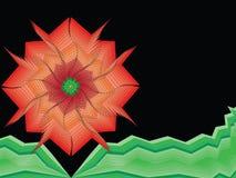 abstrakcjonistycznego tła abstrakcjonistyczny styl Obrazy Royalty Free