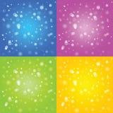 Abstrakcjonistycznego tła barwiona ilustracja Zdjęcia Royalty Free