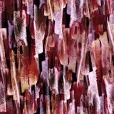 abstrakcjonistycznego t?a bezszwowa akwarela Abstrakcjonistycznego kwiatu makowa ro?lina royalty ilustracja