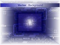 abstrakcjonistycznego tła cyfrowy wektor Zdjęcie Stock