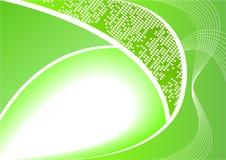 abstrakcjonistycznego tła cyfrowy zieleni wektor ilustracja wektor