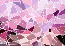 abstrakcjonistycznego tła geometryczna mozaika Obrazy Royalty Free
