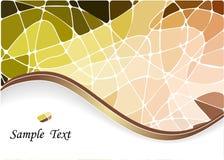 abstrakcjonistycznego tła geometryczna mozaika Zdjęcie Stock