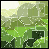 abstrakcjonistycznego tła geometryczna mozaika Obrazy Stock