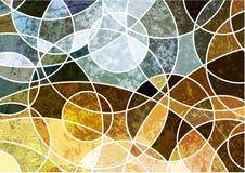 abstrakcjonistycznego tła geometryczny grunge Obraz Royalty Free