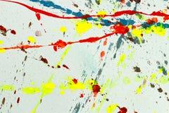 abstrakcjonistycznego tła kolorowa akwarela Zdjęcie Royalty Free