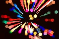 abstrakcjonistycznego tła kolorowy bokeh Obrazy Stock