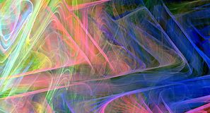 abstrakcjonistycznego tła kolorowy fractal Obrazy Royalty Free