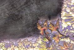 abstrakcjonistycznego tła kolorowy kwiat Obrazy Stock
