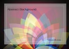 abstrakcjonistycznego tła kolorowy kwiat Zdjęcie Stock