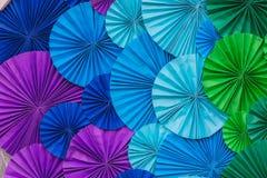 abstrakcjonistycznego tła kolorowy papier Zdjęcie Stock