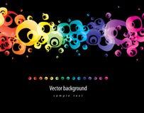 abstrakcjonistycznego tła kolorowy wektor Obraz Royalty Free