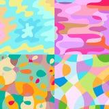 abstrakcjonistycznego tła kolorowy wektor royalty ilustracja