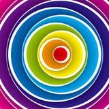 abstrakcjonistycznego tła kolorowy wektor Obrazy Royalty Free