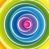 abstrakcjonistycznego tła kolorowy wektor Obrazy Stock