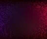 abstrakcjonistycznego tła kolorowy zmrok Rozjarzona mozaika gwiazdy Zdjęcie Royalty Free