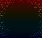 abstrakcjonistycznego tła kolorowy zmrok Rozjarzona mozaika gwiazdy Obraz Stock