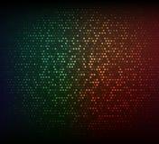 abstrakcjonistycznego tła kolorowy zmrok Rozjarzona mozaika gwiazdy Zdjęcia Stock