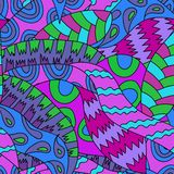abstrakcjonistycznego tła kwiecisty bezszwowy Zdjęcie Royalty Free