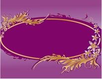 abstrakcjonistycznego tła kwiecisty wzór Fotografia Royalty Free