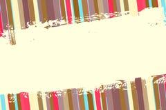 abstrakcjonistycznego tła retro lampasy ilustracja wektor