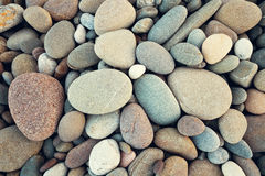 Abstrakcjonistycznego tła susi round reeble kamienie w rocznika stil Zdjęcie Royalty Free