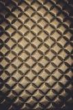 Abstrakcjonistycznego tła tekstury Luksusowy Goldtone rzemienny meble Zdjęcie Stock