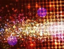 abstrakcjonistycznego tła zamazany sparkly Zdjęcie Royalty Free