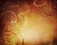 abstrakcjonistycznego tła kwiecisty rocznik Obrazy Royalty Free