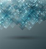 Abstrakcjonistycznego technologii pojęcia obrazkowy tło ilustracja wektor