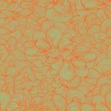 Abstrakcjonistycznego tkactwa bezszwowy wzór w retro kolorach Fotografia Royalty Free